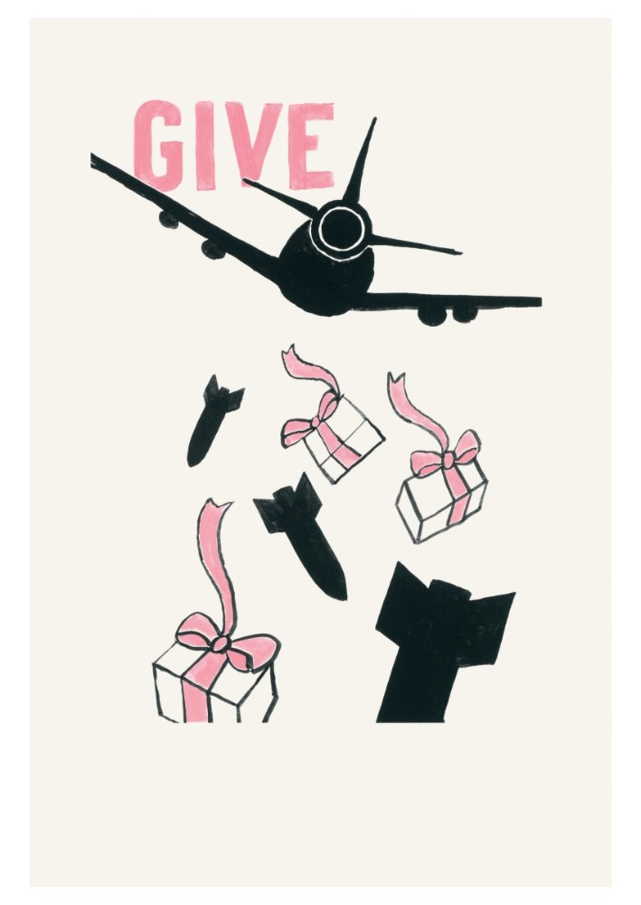 Give (Postkarte, 20 Ex)