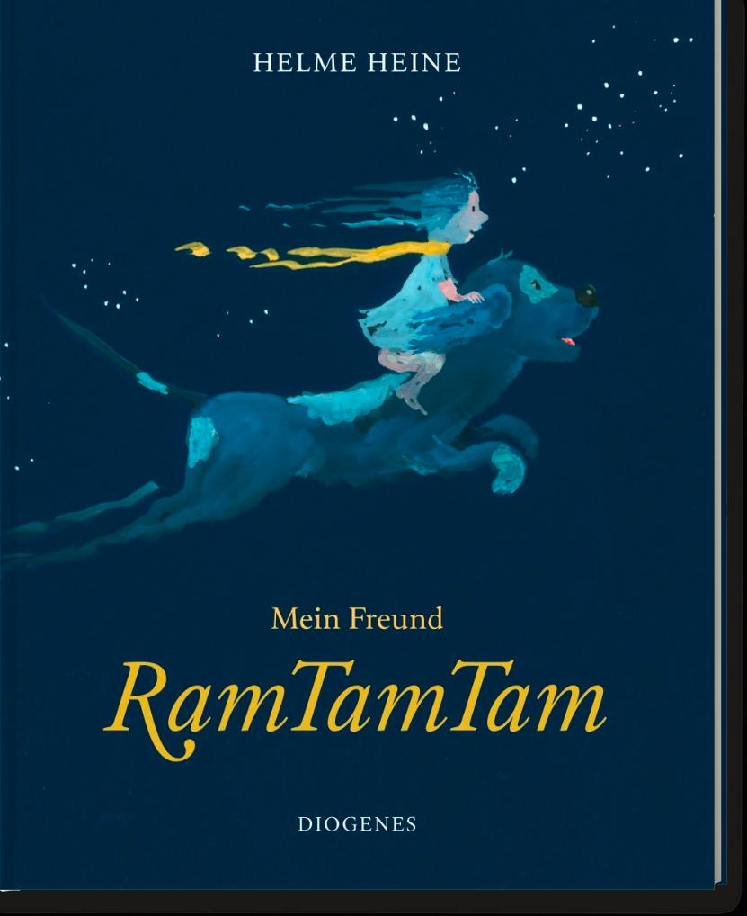 Now published: My Friend RamTamTam by Helme Heine