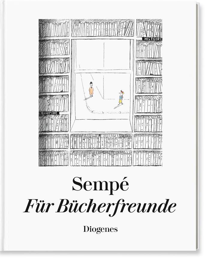 Jean-Jacques Sempé, Für Bücherfreunde