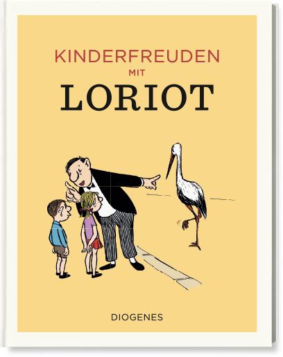 Loriot Weihnachten.Diogenes Verlag Loriot