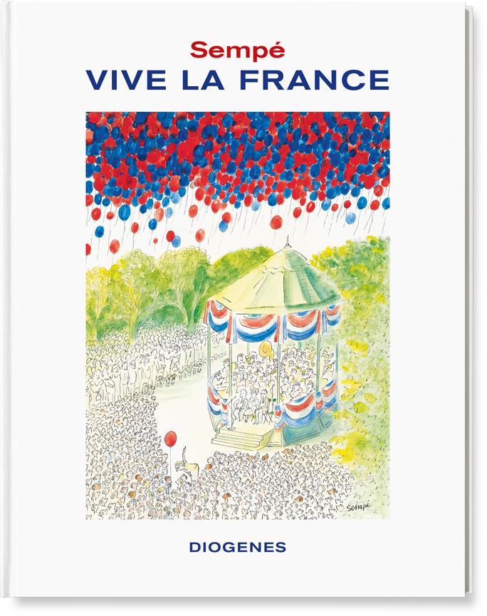 Jean-Jacques Sempé Vive la France