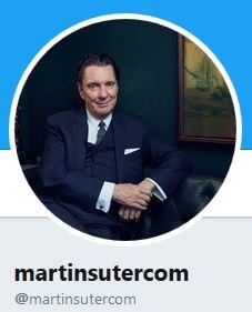Martin Suter reimt jetzt auf Twitter