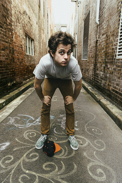 George Watsky im August auf Europa-Tournee