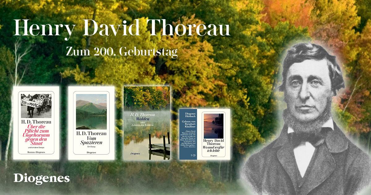 Henry David Thoreau 200. Geburtstag am 12.7.2017