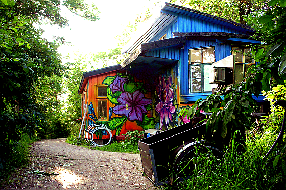 Christiania. Foto: © Arnaud DG, The bucolic side of Christiania #2 (CC BY-SA 2.0)