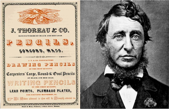 Flugblatt, Boston, ca. 1845 / Henry David Thoreau, 1856