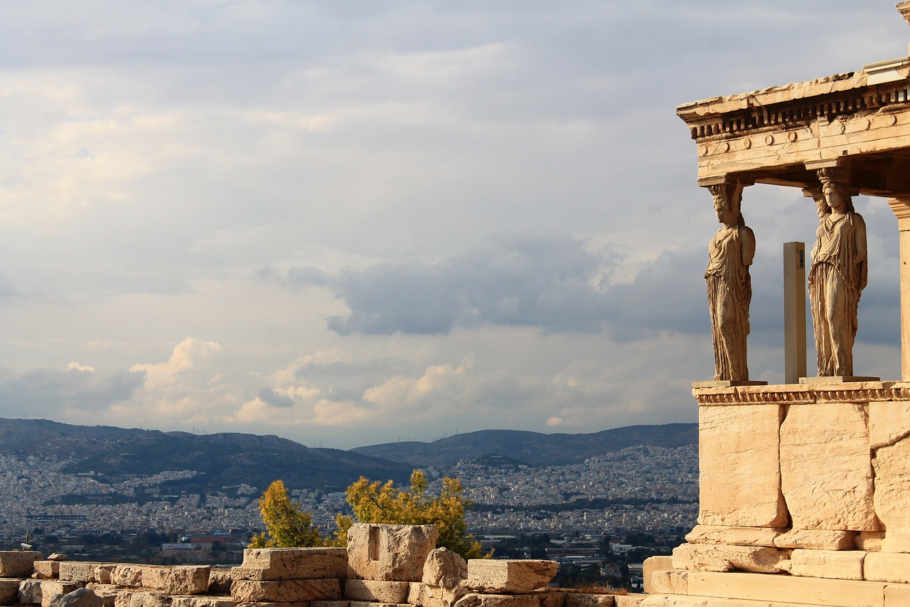 Akropolis in Athen. Foto via pixabay.com (CC0 Creative Commons)